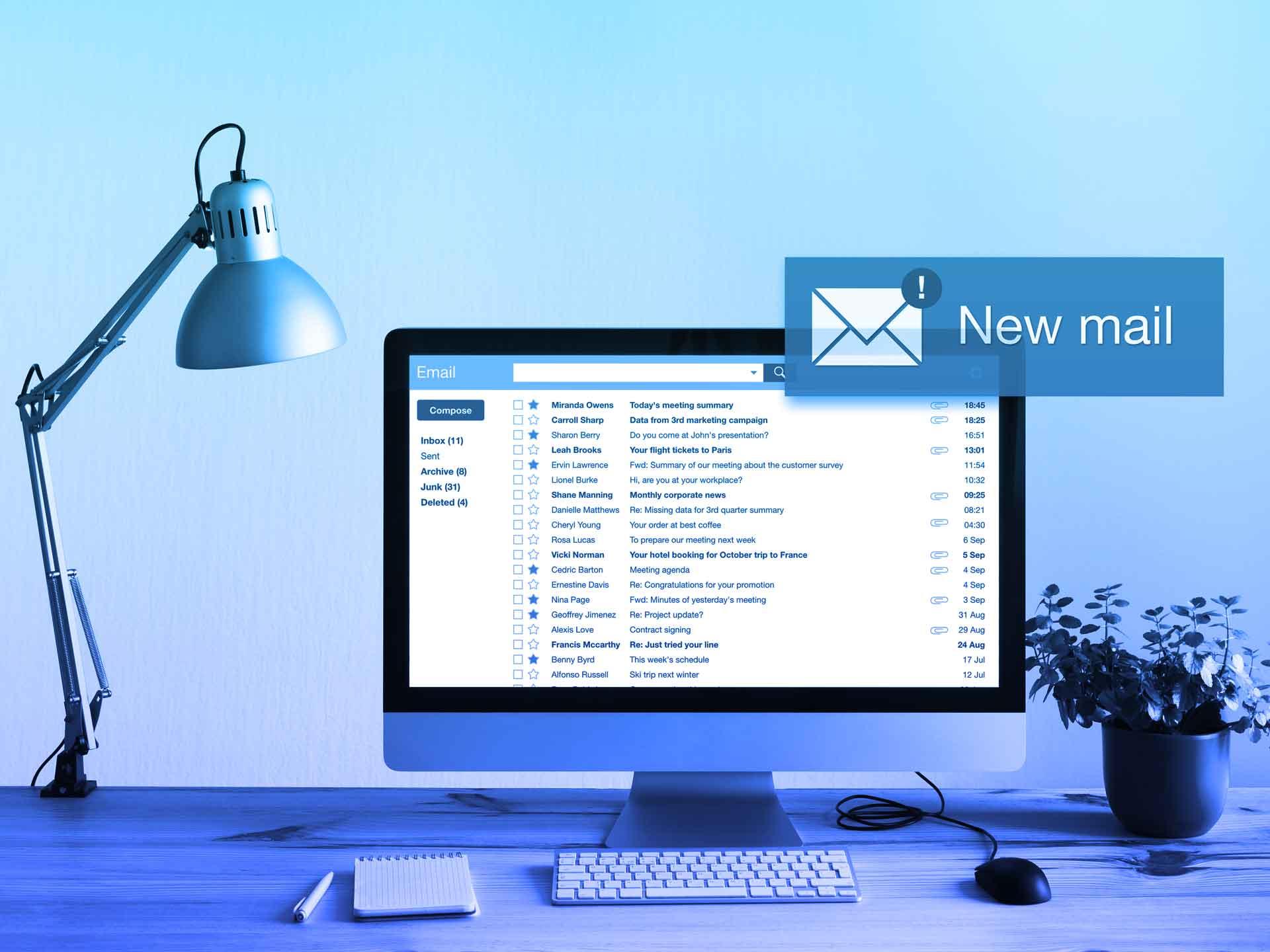 Microsoft Planner | E-Mail Benachrichtigungen