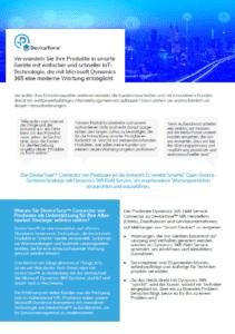 """DeviceTone Genie für Microsoft Dynamics 365 Field Service verwandelt Produkte in """"intelligente"""" Geräte mit schneller IoT-Technologie für den Kundendienst"""
