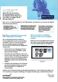 Der Landing Page Accelerator erweitert die personalisierte Dashboard- und Benutzerrollenfunktionalität von Dynamics 365 Customer Engagement.