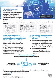 Automatic Ledger Accelerator für Dynamics 365 Finance & Operations