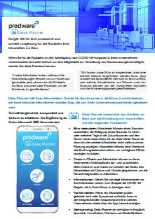 Prodware Desk Planner App