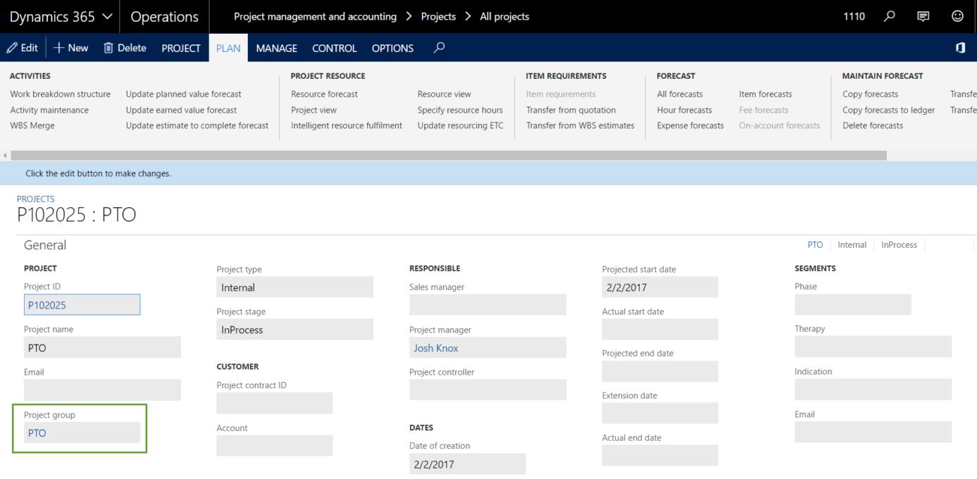 Screenshot 2 Finance and Operations