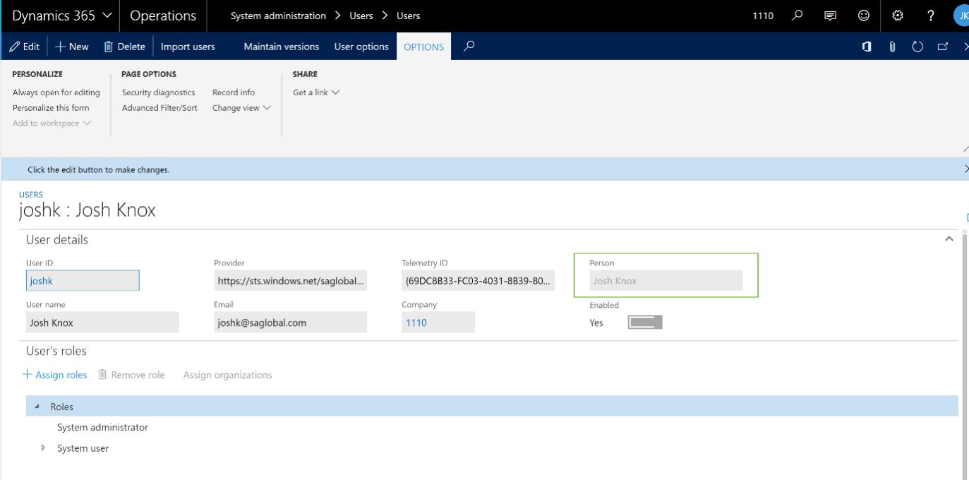Screenshot 4 Finance and Operations