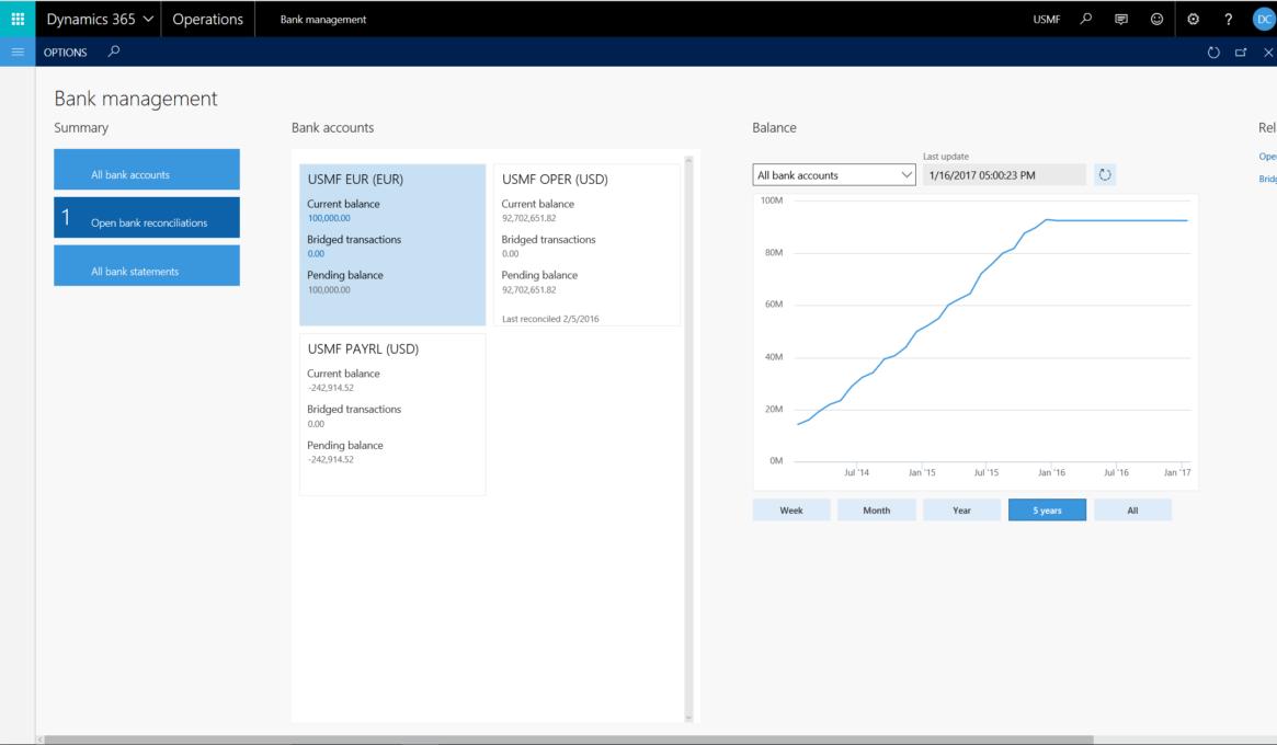 Screenshot 5 Finance and Operations