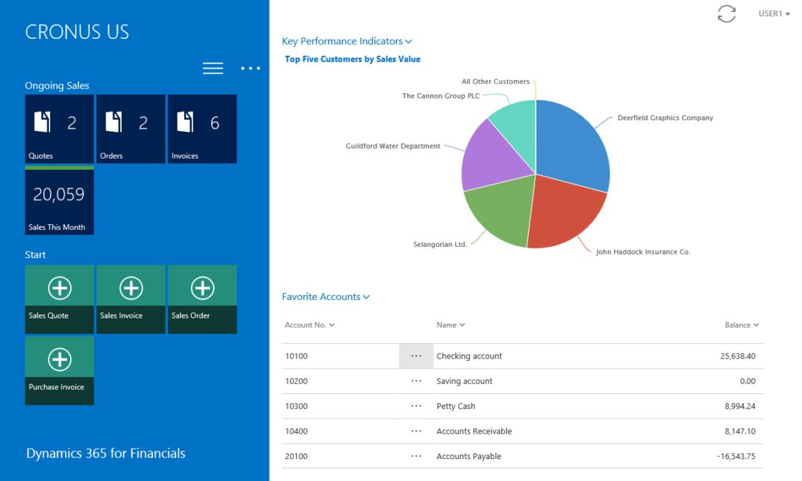 Screenshot 8 Finance and Operations