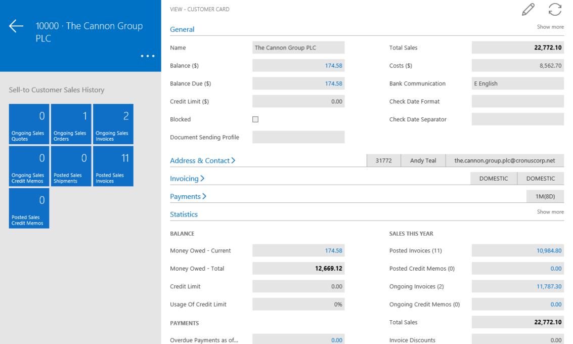 Screenshot 9 Finance and Operations