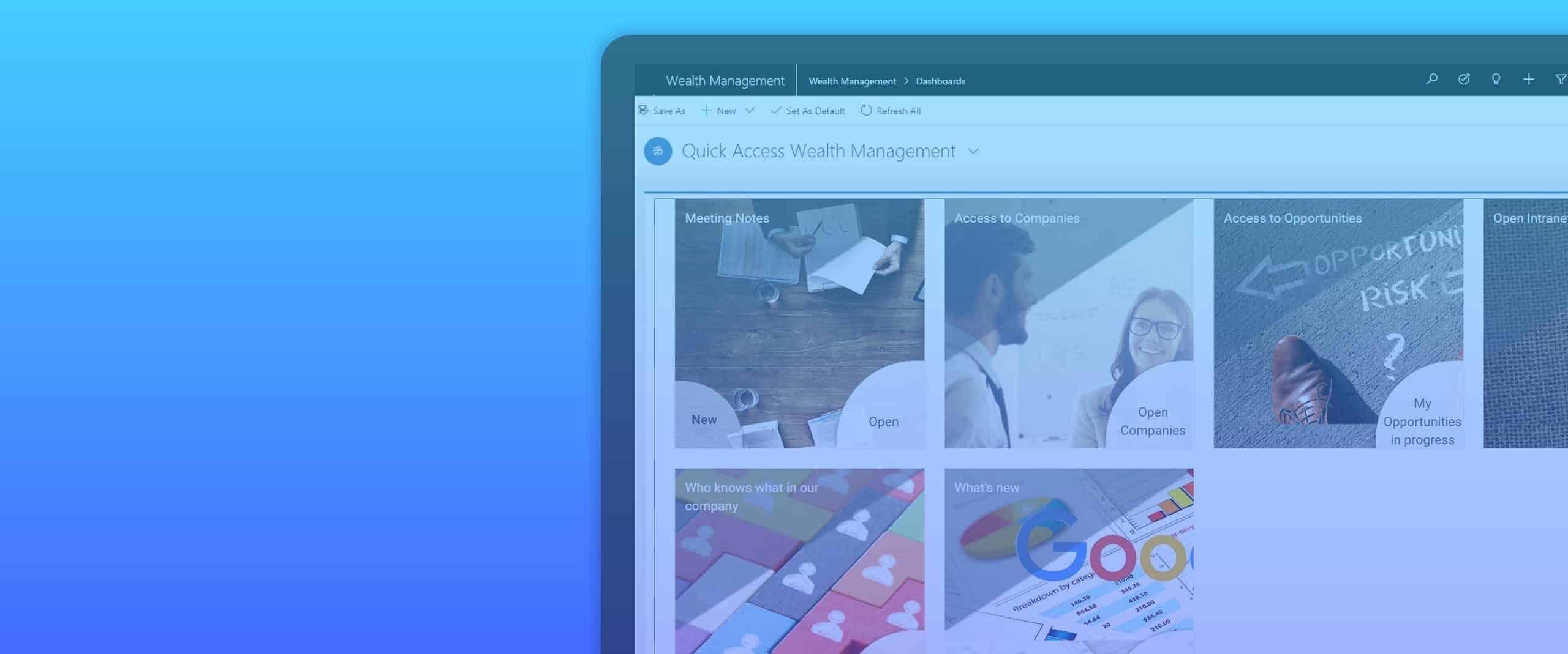 Wealth Management for Microsoft Dynamics 365 Sales