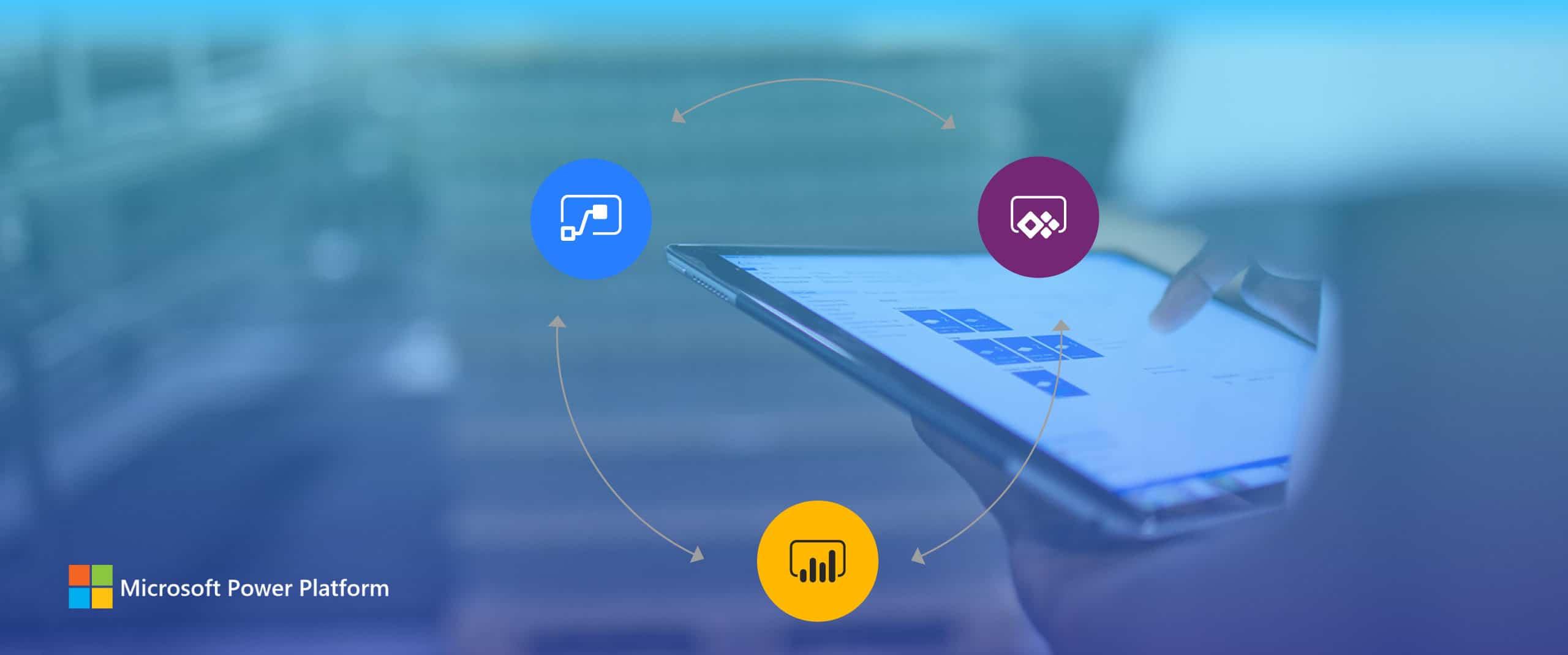 Microsoft Power Platform webinar slider