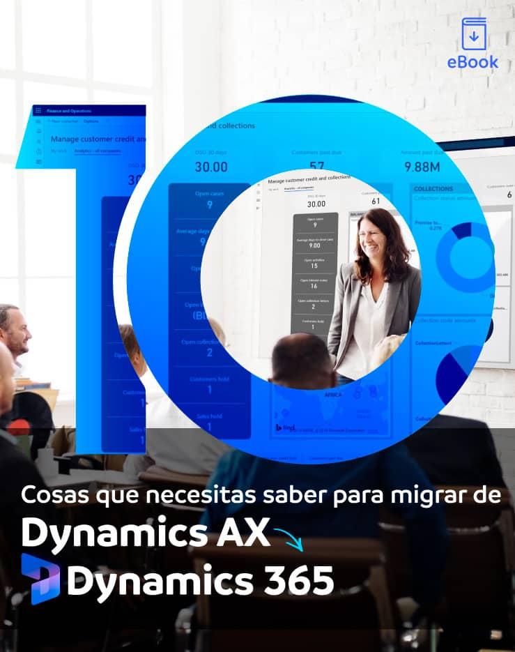 De dynamics AX a Dynamics 365