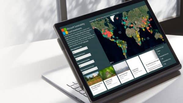 Microsoft Emissions Impact Dashboard