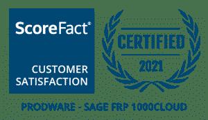 scorefact 2021 - sage frp 1000 cloud