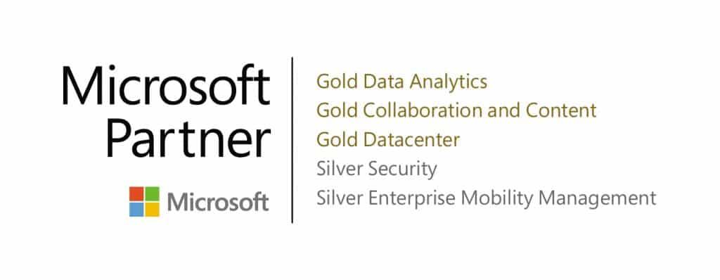 partenaire gold et silver Microsoft
