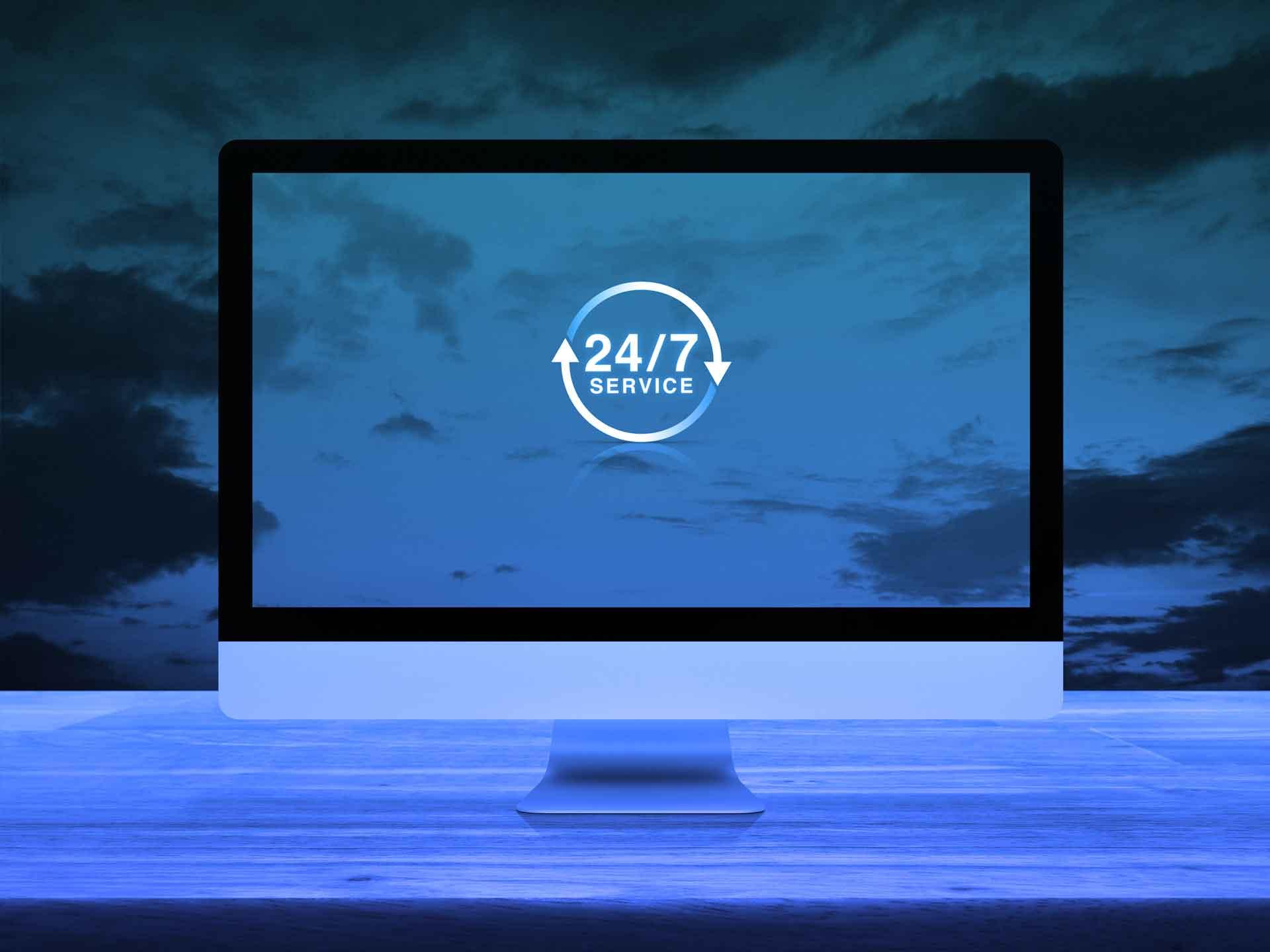 24/7 service met Microsoft Dynamics 365 Customer Service