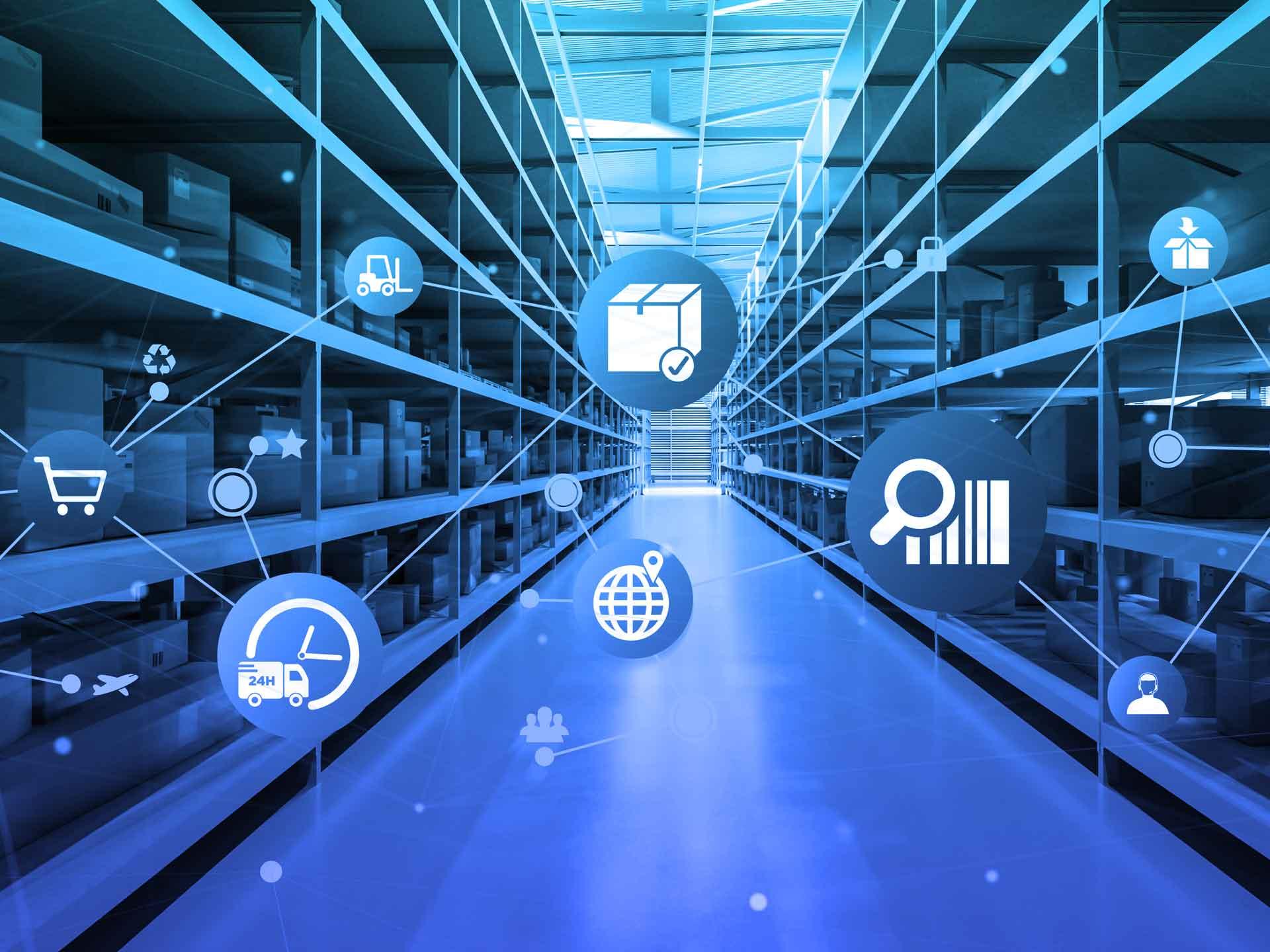 Wholesale and Distribution entrepôt et gestion des stocks