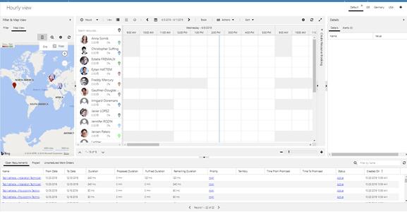 DeviceTone schedule work order