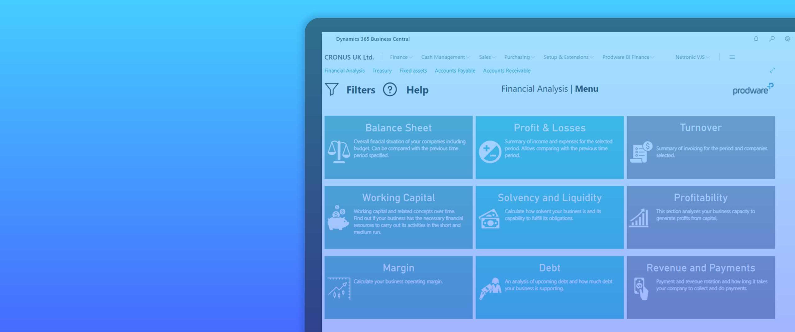 Power BI for Microsoft Dynamics 365 Business Central