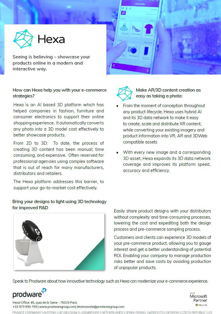 Hexa brochure