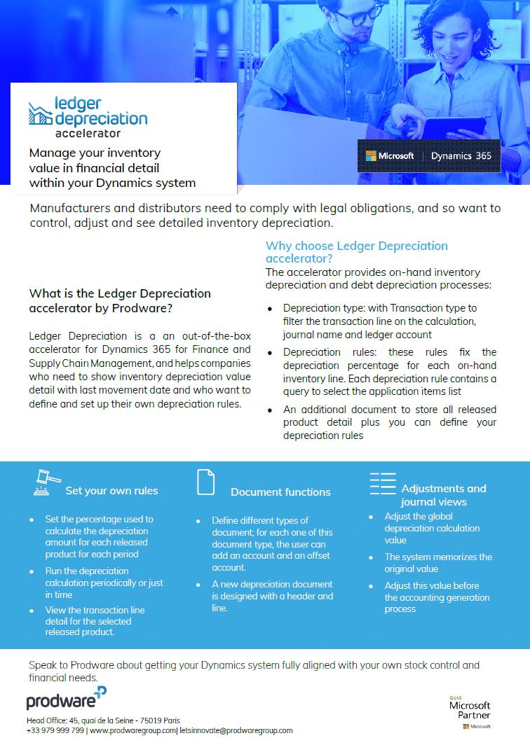 Ledger Deprecation accelerator for Dynamics 365 Business Central brochure thumbnail