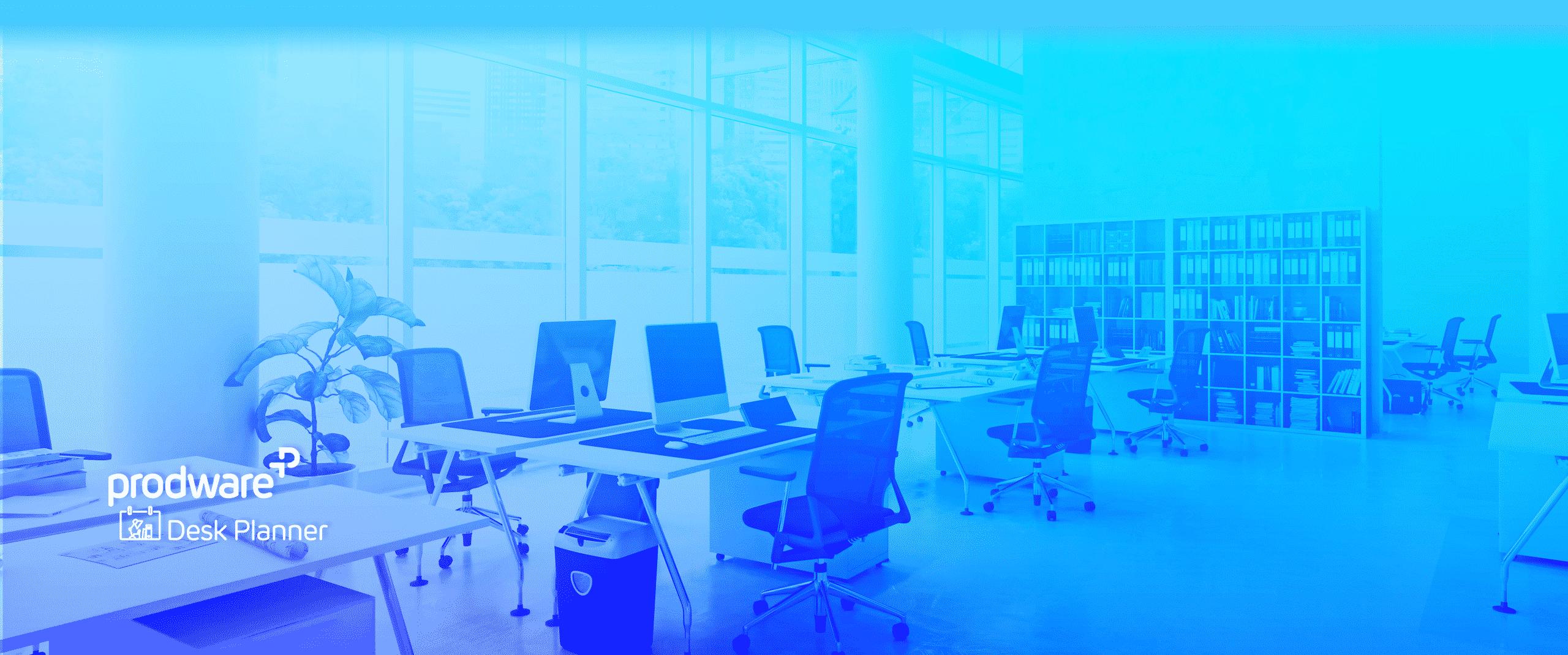 Desk Planner app header